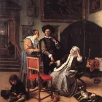 La Medicina en el Arte: Pintura - La visita del doctor