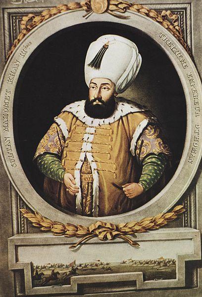 fratricidio en las leyes otomanas. 408px-mehmed_iii