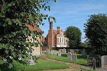 Woodham Mortimer Hall, home of the Chamberlen family