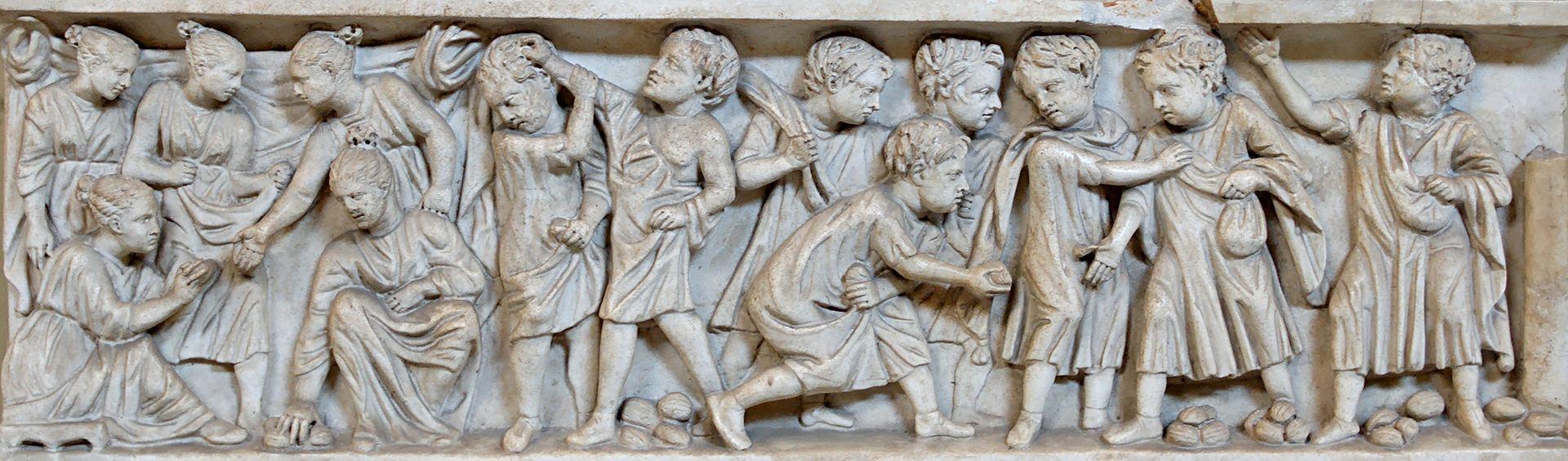 El Juego En La Antigua Roma