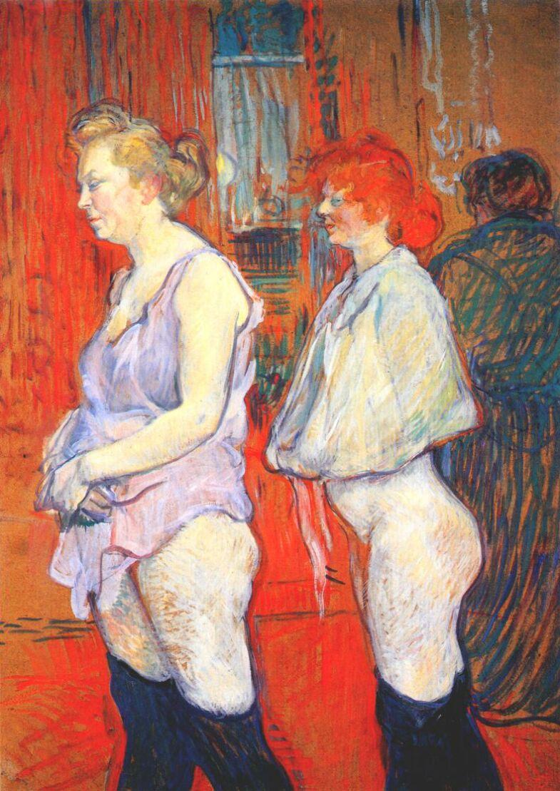 prostitutas toulouse lautrec enfermedades venereas prostitutas
