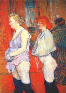 Lautrec_rue_des_moulins,_the_medical_inspection_1894
