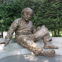 El día que murió Einstein