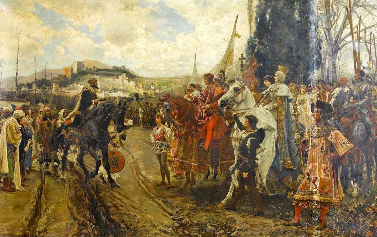 Los Reyes Católicos toman Granada