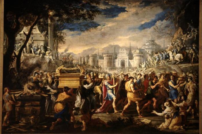 Arca Alianza Jerusalén