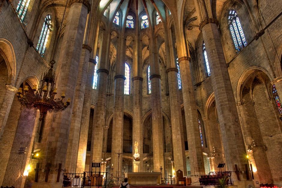 santa maria del mar catedrall basílica