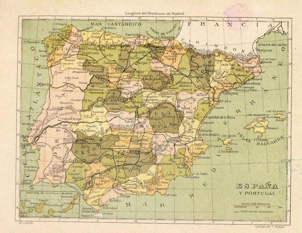 España_provincial_1850