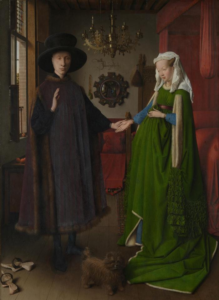 Retrato de Giovanni Arnolfini y su Esposa