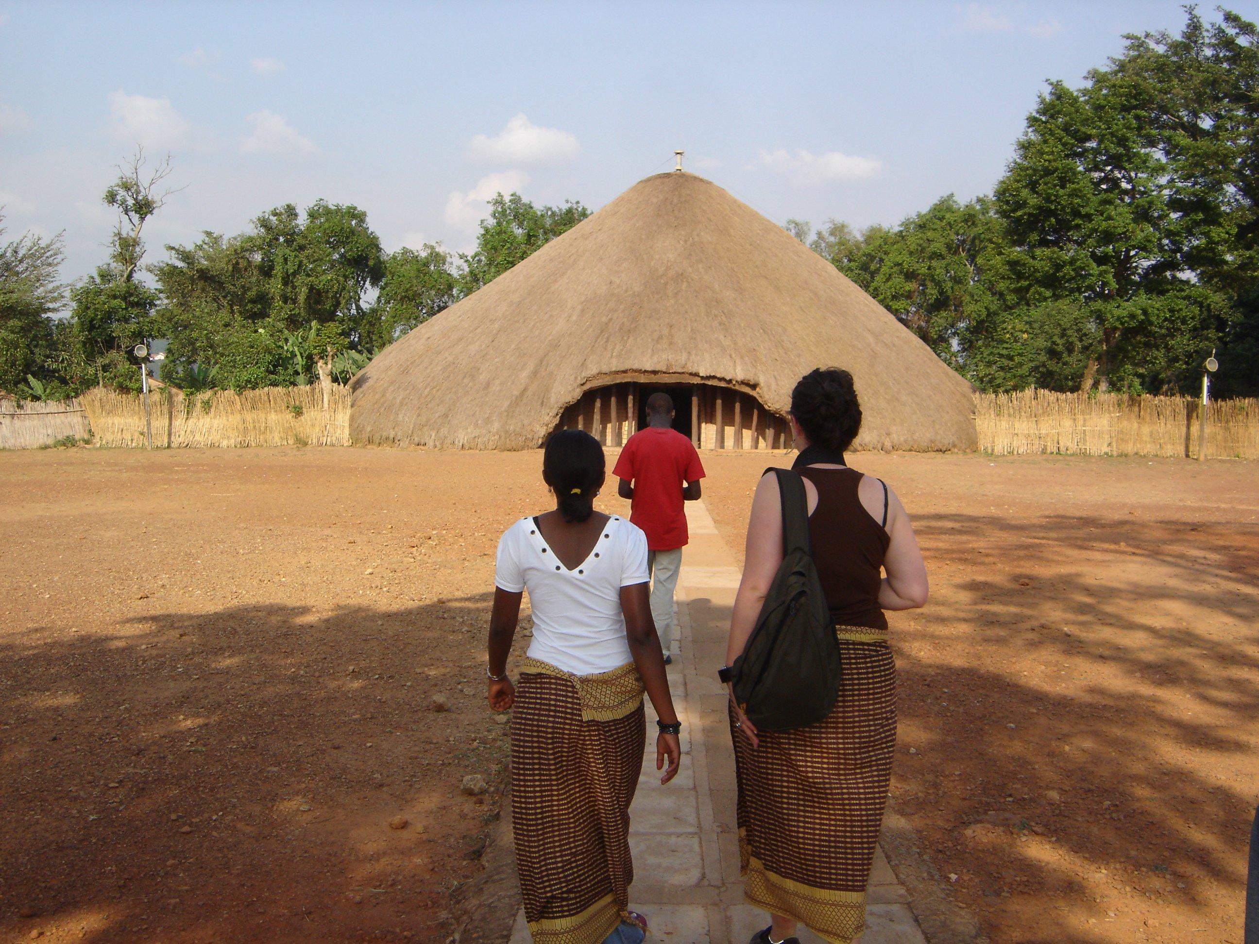 tumbas de los reyes de Buganda