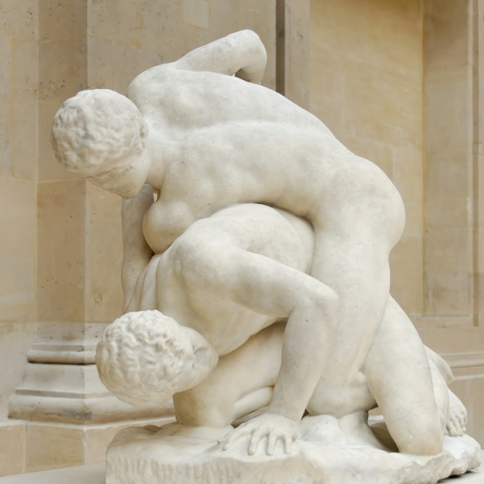 Uffizi_wrestlers_Magnier_Louvre_MR2040