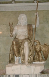 Estatua Zeus Hermitage