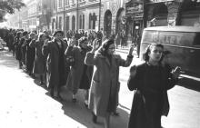 Mujeres judías gueto Budapest Segunda Guerra mundial