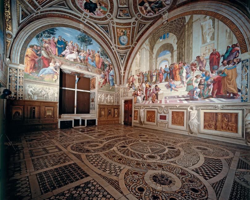 estancia del sello Vaticano