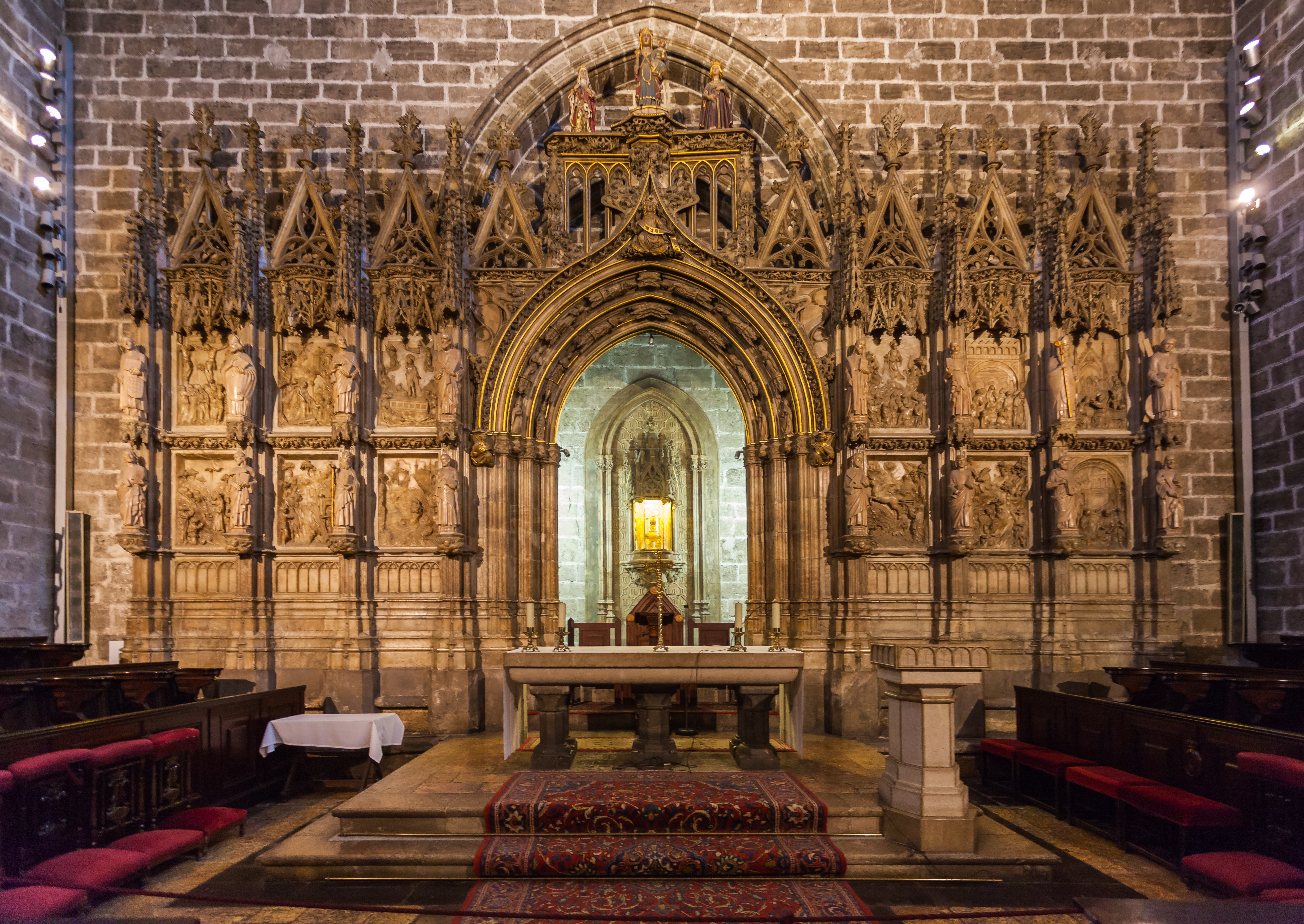 Capilla del Santo Cáliz, Catedral de Valencia, Valencia, España