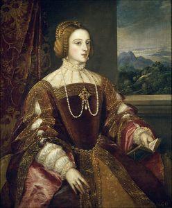Isabel de portugal Tiziano
