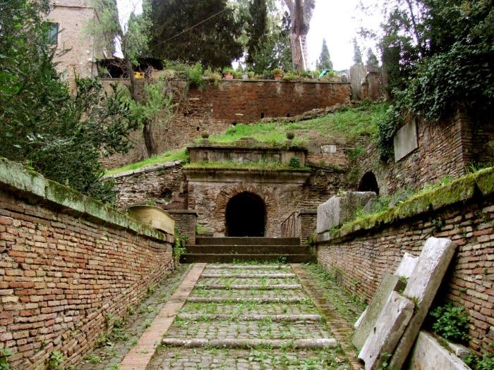 Tumba de los Escipiones en roma