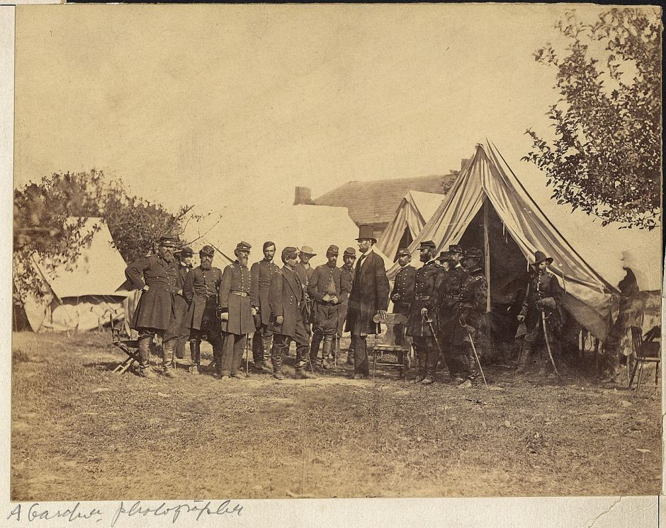 guerra de secesión americana Lincon