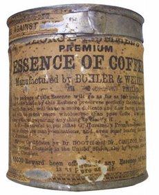 esencia café guerra secesión americana