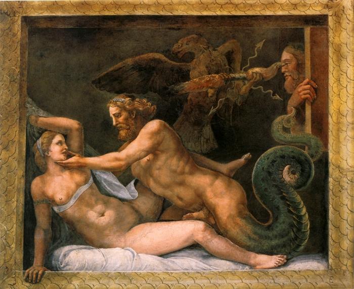 Júpiter y olimpia