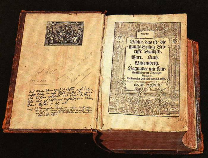 biblia de lutero