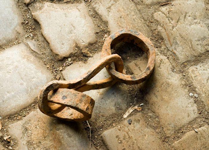 cadenas de esclavo