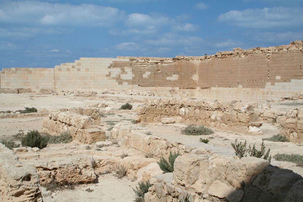 The Osiris temple at Taposiris Magna, Ptolemaic period