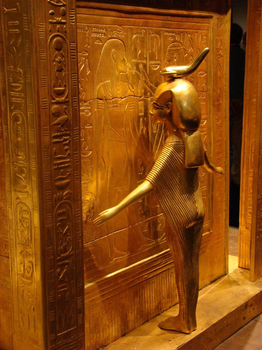 Los sarcófagos de Tutankamón