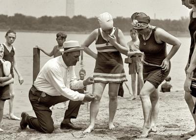 el medidor de bañadores