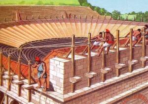 velum anfiteatro romano