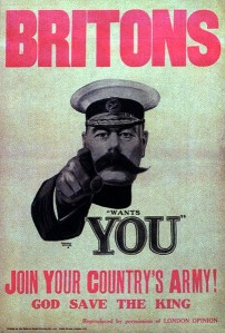 lord kitchener cartel de alfred leete