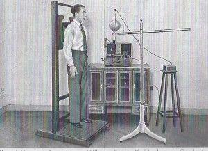 primera radiografía en españa