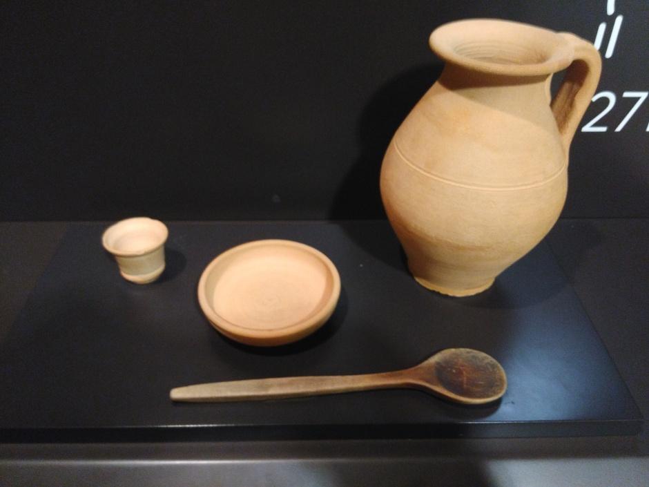 utensilios comida romana