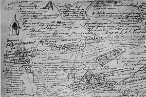 notas de Dostoievski para el capítulo 5 de los hermanos Karamazov
