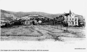avenida del tibidabo barcelona
