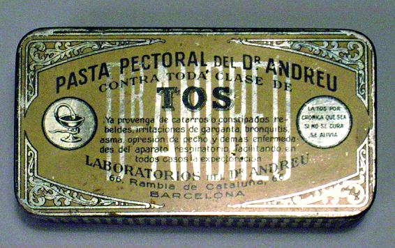 Pasta pectoral del Dr. Andreu