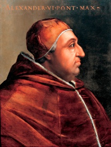 papa alejandro VI Borgia