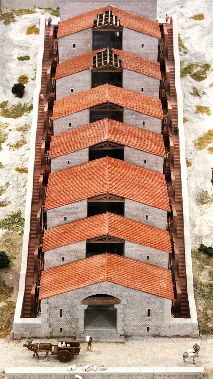 molinos agua barbegal roma