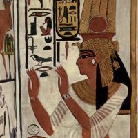 Dibujemos un faraón