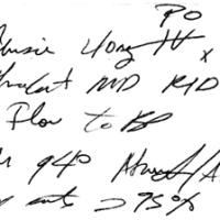 Letra de médico, ¿quién puede entender esta receta?