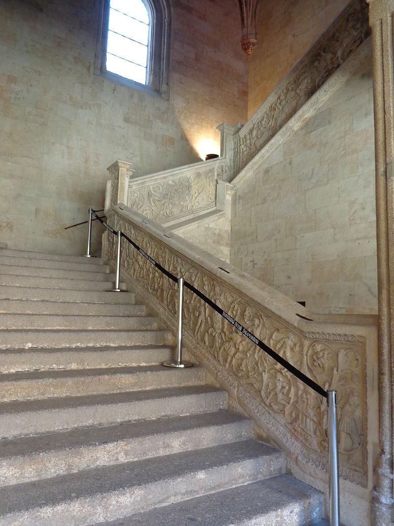 escalera universidad salamanca