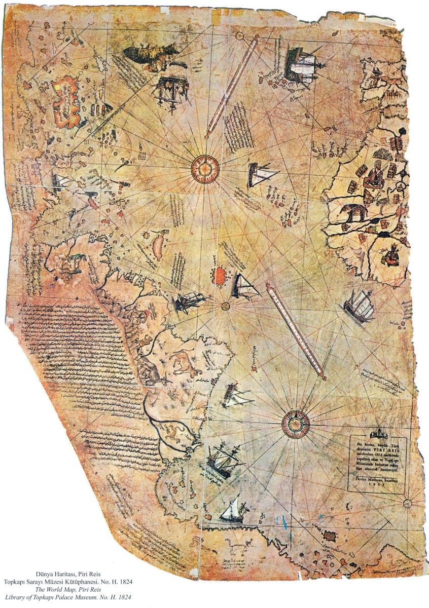 El Mapa de Piri Reis y otros mapas... ¿inadmisibles?