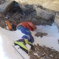 "La peligrosa escalada del Everest ... ""Quedan tres horas de subida hasta Botas verdes"""