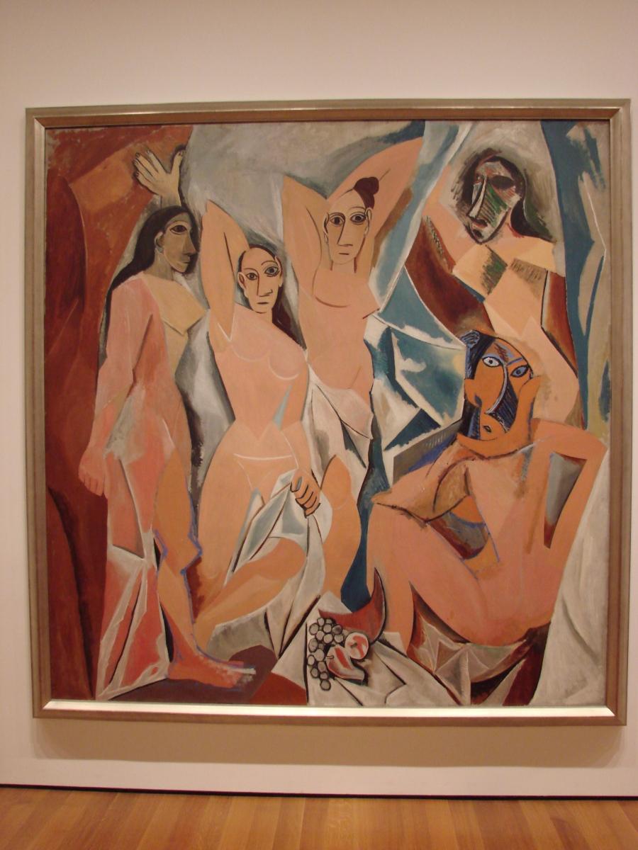 Picasso y sus señoritas de Avinyó...