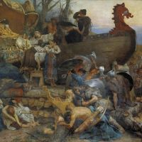 Un funeral muy vikingo