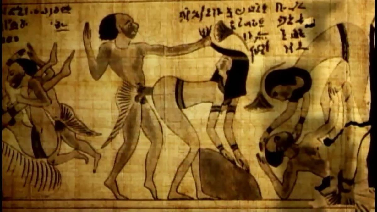 """El Nilo """"de semen"""""""