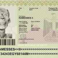 Ramsés II, ¿me permite su pasaporte, por favor?