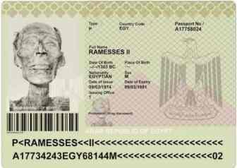 ramses II pasaporte