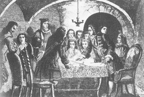 Consell de guerra de l'1 de septiembre de 1714