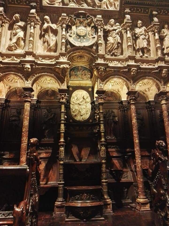 La Sillería Del Coro De La Catedral De Toledo Franciscojaviertostado Com