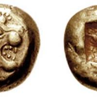"""El """"electrum"""", la primera moneda"""